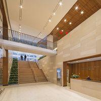 Interior Belfer Research Building